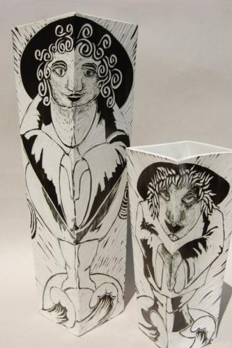 Vases Personnage