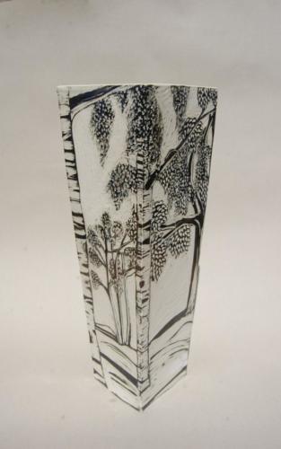 Grand vase Les Bouleaux